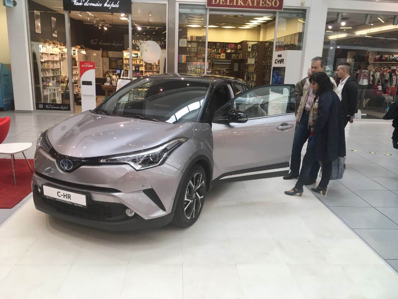 Toyota C-HR roadshow