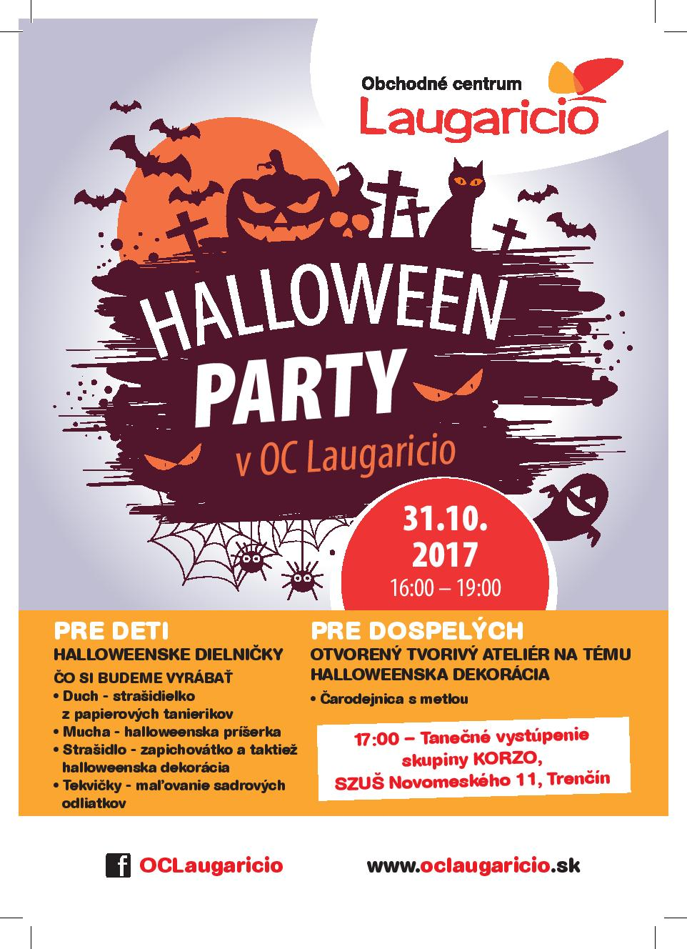 HALLOWEEN PARTY V OC LAUGARICIO